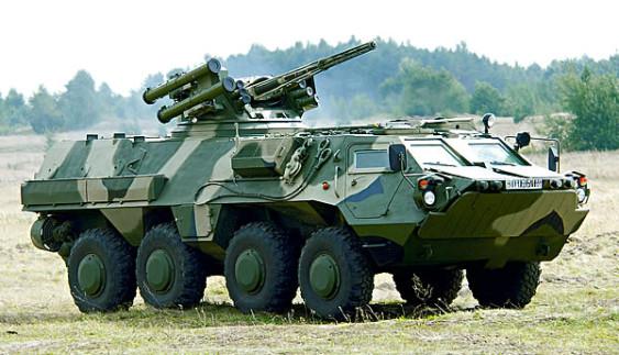 В Україні починається випуск БТР-4 з дизельними двигунами Mercedes-Benz