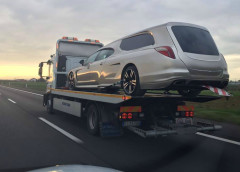 Porsche Panamera перетворили в катафалк