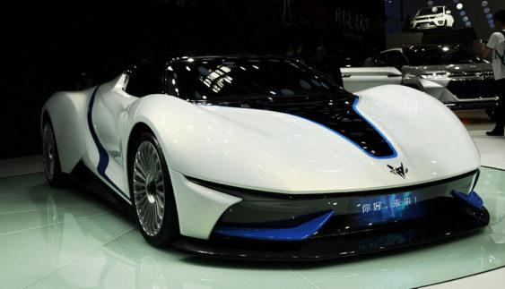 Китайці розповіли про 603-сильний електричний суперкар