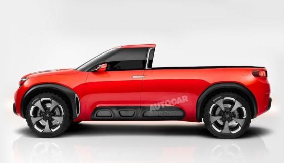 Альянс Peugeot Citroen випустить пікап