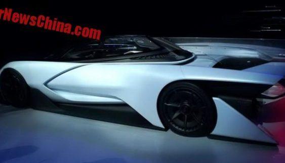 У Пекіні дебютував китайський електросуперкар Faraday Future