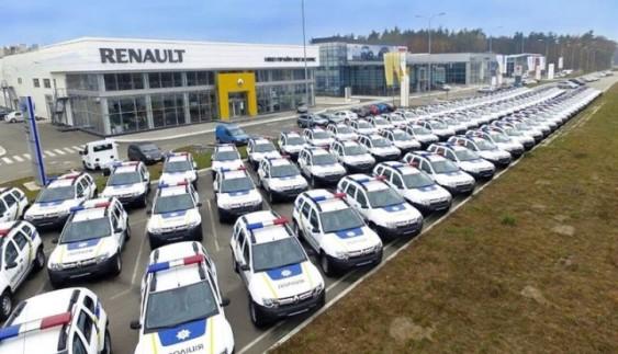На яких авто їздить поліція України