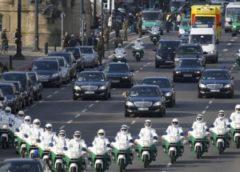 Кортежам закон не писаний: на чому їздять Путін, Обама і українські VIP (ВІДЕО)