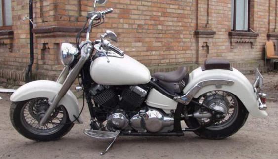 У Києві знайшли мотоцикл, давно викрадений в Японії