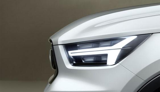Volvo показав фрагмент V40 і XC40