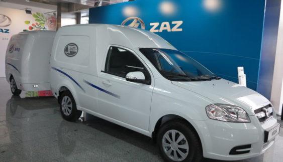ЗАЗ презентував фургон VIDA з ГБО (Фото)