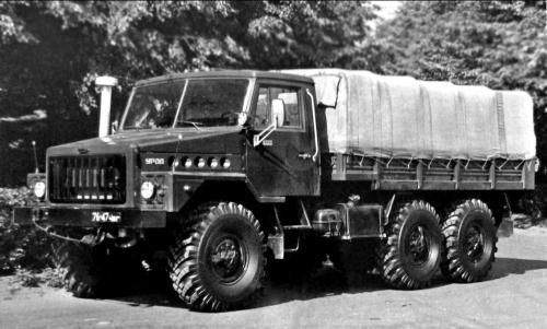 «Урал-4322» – перший прототип сімейства армійських вантажівок «Суша»