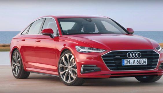 У мережі з'явилися перші зображення оновленого Audi A6