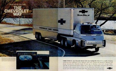 Унікальні газотурбінні вантажівки 60-х (Фото)