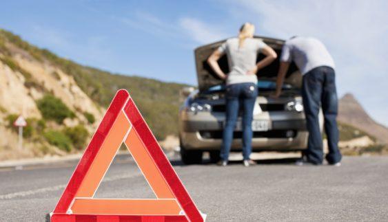 Що робити, якщо автомобіль зламався на дорозі?