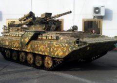 В Україні показали новий варіант модернізованої бойової машини БМП-1УМ