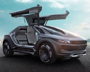 У Китаї представили конкурента Tesla Model X