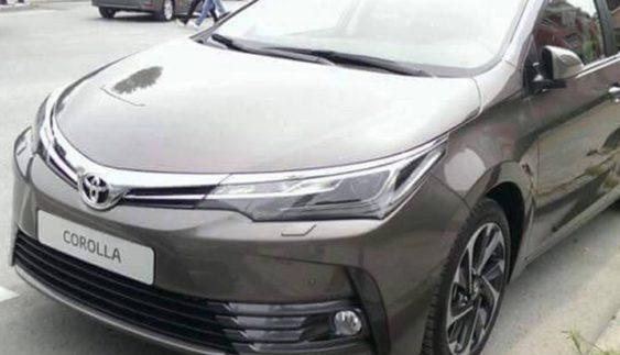 З'явилися перші знімки нової Toyota Corolla