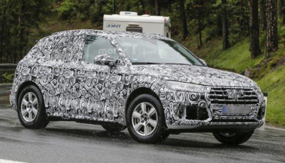 Новий Audi Q5 тестують на європейських дорогах