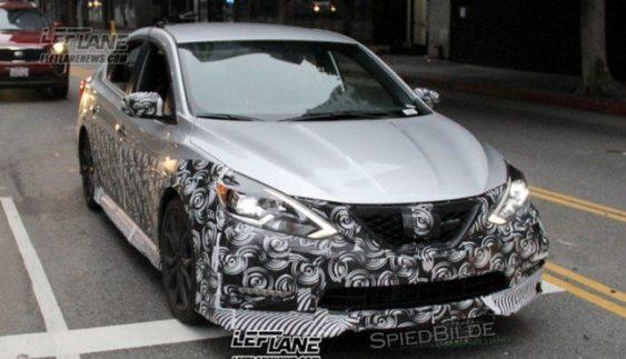 З'явилися шпигунські фото оновленого седана Nissan Sentra Nismo