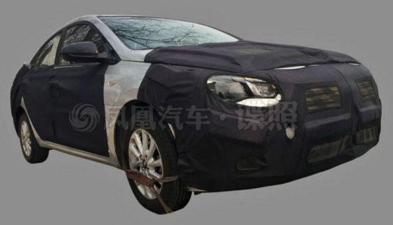 З'явилися зображення нового Hyundai Solaris