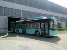 Чернігівський автозавод випустив тролейбус з автономним ходом (ФОТО)