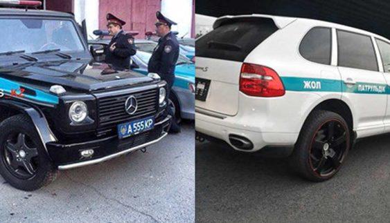 """У столиці Казахстану поліція їздить на """"Геліках"""" і """"Каєнах"""" (фото)"""