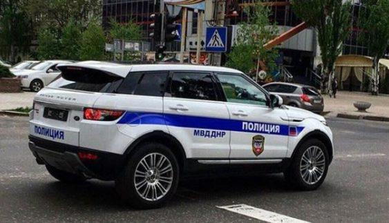 Чия машина? «Поліція ДНР» їздить на машині за 1,2 млн грн