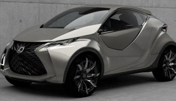Lexus хоче випустити новий маленький кросовер (Фото)