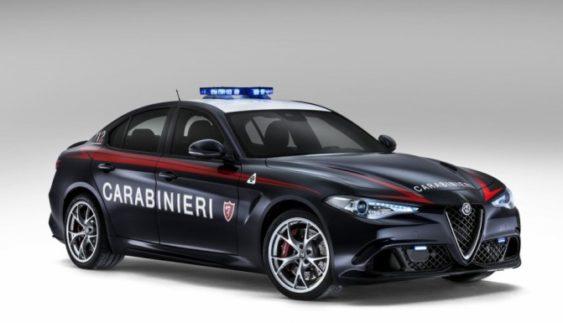 «Заряджену» Alfa Romeo Guilia передали у поліцію