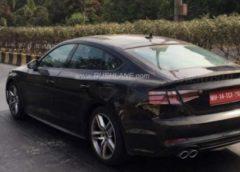 Сфотографований прототип Audi A5 Sportback