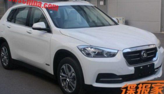 Розсекретили новий китайський кросовер на базі BMW X1