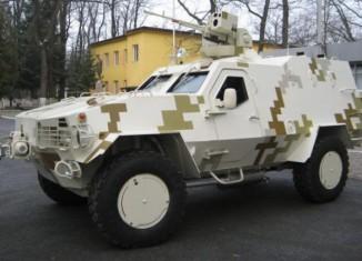Українські бронеавтомобілі виявилися бракованими