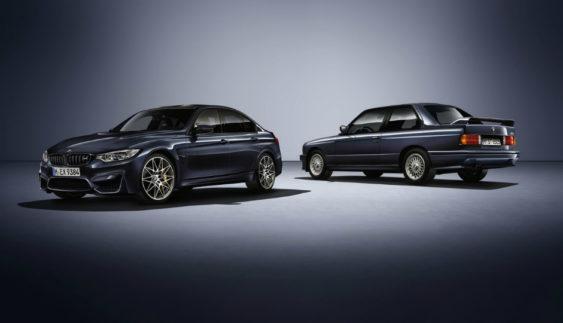 Компанія BMW підготувала «ювілейний» седан M3