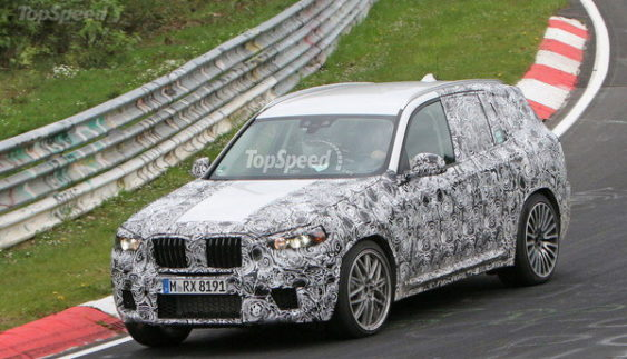 BMW проводить випробування нового покоління кросовера X3