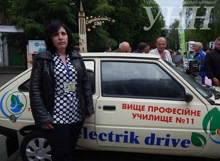 """Презентували український електромобіль на базі """"Таврії"""""""