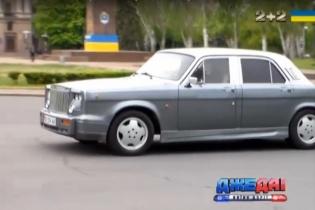 """Український автолюбитель перетворив """"Волгу"""" в Rolls-Royce (Фото)"""