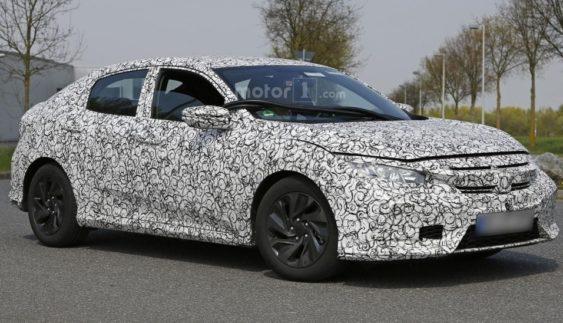 Хетчбек Honda Civic 2017: перші фото новинки