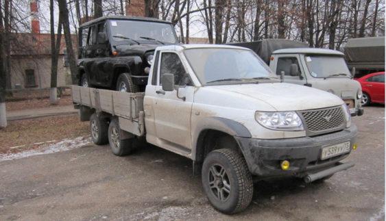 """Як з УАЗа зробили вантажівку """"Камаз"""""""