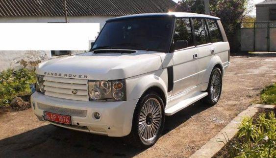 """В Україні з старого Range Rover 1980-х зробили новий """"Рендж"""""""