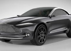 Нова інформація про перший кросовер Aston Martin