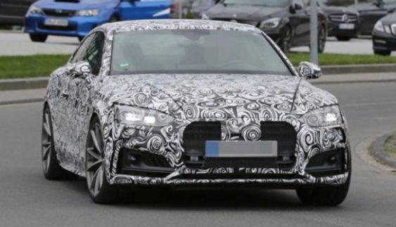 """Audi розпочала випробування """"зарядженого"""" А5"""