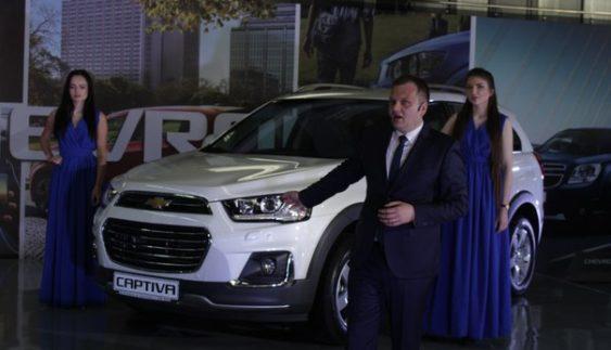 В Україні представили оновлену версію кросовера Chevrolet