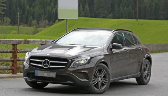 Mercedes-Benz почав тести нового кросовера