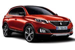 Новий Peugeot 3008 зафіксували на відео