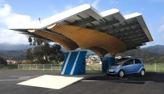 Як виглядатиме автозаправна станція майбутнього (Фото)