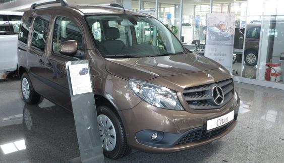 У Києві презентували нові фургони Mercedes-Benz Citan і Vito (Фото)