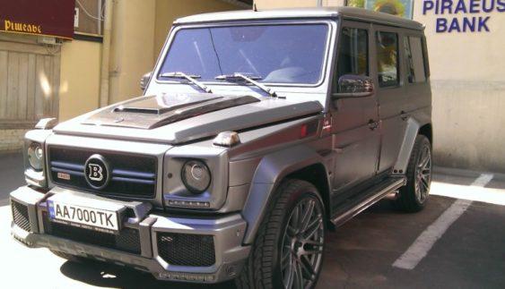 У Києві помітили унікальний Mercedes Gelandewagen за $ 300 тисяч