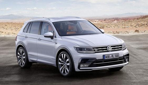 Volkswagen Tiguan приємно порадує прихильників моделі