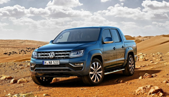 Volkswagen показав інтер'єр оновленого Amarok