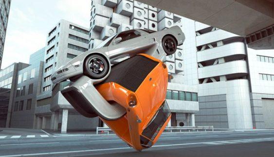 На це можна дивитися вічно: автомобільне мистецтво, яке підриває мозок
