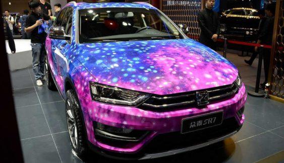 Zotye запустить в продаж клон Audi Q3 з дивовижним забарвленням кузова