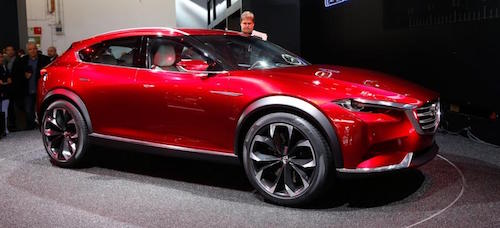 Mazda оголосила ціни на новий кросовер CX-4