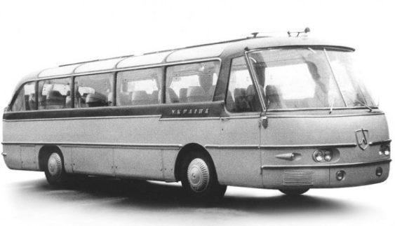 """ЛАЗ """"Україна-1″ – дослідний автобус підвищеної комфортності"""