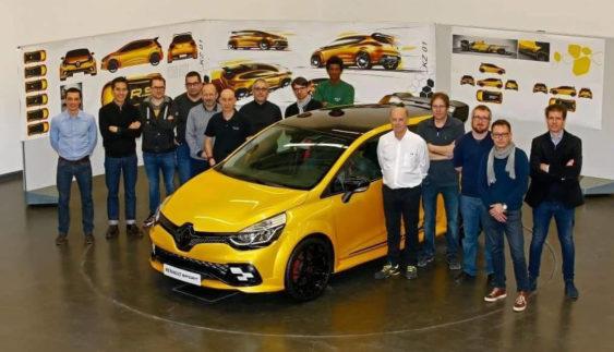 Продемонстровано Renault Clio RS